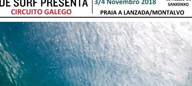 Circuito Galego Open FGS 2018, Sanxenxo
