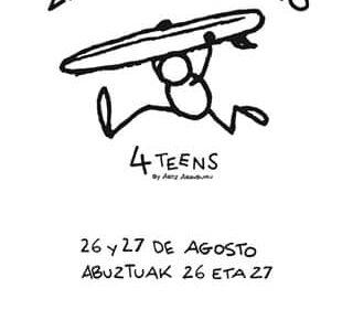 Zarautz 4 Teens 2017