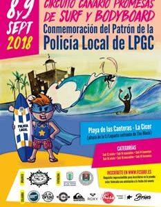 Campeonato conmemoración patrón de la Policia Local LPGC 2018