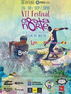 Festival Surfing Costa Norte, Villa de Moya 2018