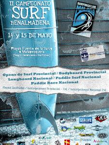 II Campeonato Surf Benalmádena